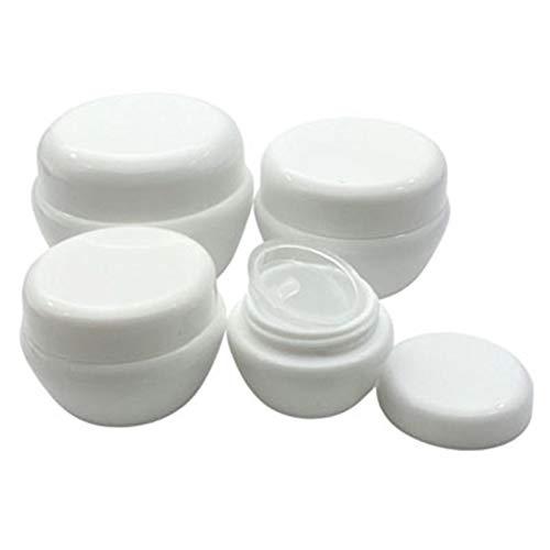 Mini-Flaschen 30 stücke 5/10/20 / 30g Mini leerer Glas Töpfe kosmetische Make-up innere Deckel Gesichtscreme Lippen-Balsam-Behälter Meine nachfüllbaren Flaschen Geteilte Flasche