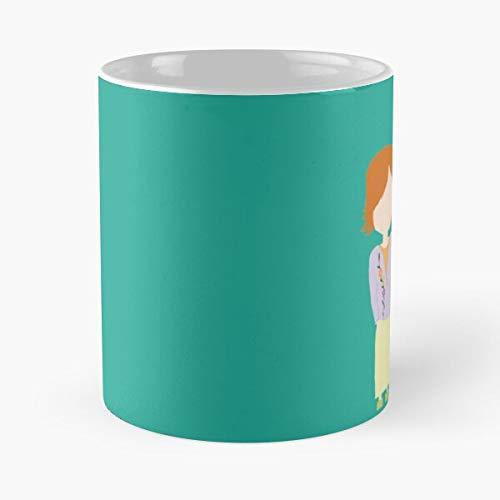 You're My Always Willow & Tara Stylized Print - Eat Food Bite John Best 11 oz 15 oz Tazza da caffè in ceramica bianca