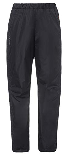 VAUDE Damen Hose Women's Fluid Full-Zip Pants, black, 44, 012630100440