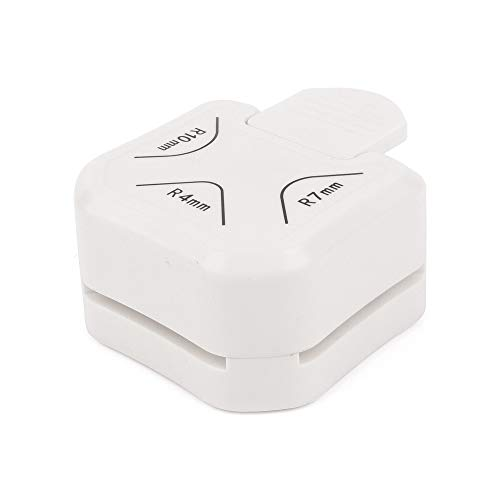 ewtshop® Eckenabrunder 3 in 1, 4mm, 7mm, 10mm, Eckenstanzer, Corner Punch, neutrales Design