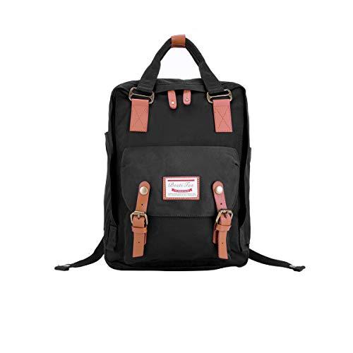 BestiTas Moderner, einfacher und Unisex Outdoor Rucksack Mode Schulrucksack für Backpack (Schwarz)