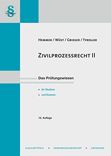 Zivilprozessrecht II (Skripten - Zivilrecht)