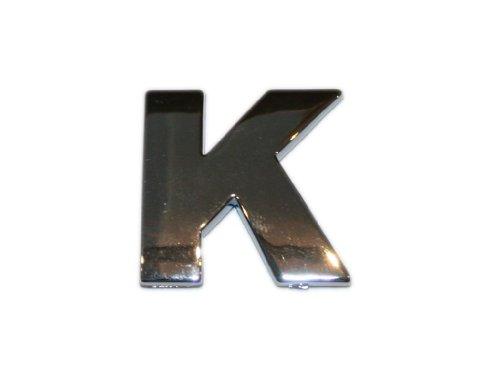 3D Chrombuchstabe K