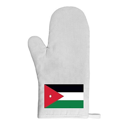Mygoodprice Ofenhandschuh Topflappen Flagge Jordanien