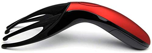 XYFW Wiederaufladbares Mini-Massagegerät Für Elektrischen Massagekamm Für Den Kopf, Druckentspannung Der Kopfhaut,A