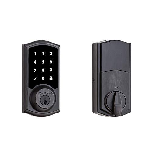 Kwikset 99160-021 SmartCode 916 Traditional Smart Touchscreen Deadbolt Door...