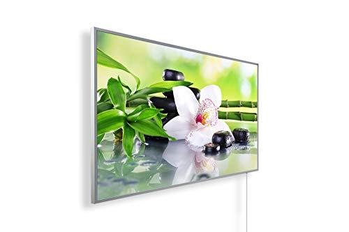 450W/600W/800W/1000Watt Infrarotheizung mit TÜV - Bildheizung Spiritualität Meditation Entspannung – Smart Home Digitalthermostat per Handy/App steuer- und programmierbar (IOS und Android)