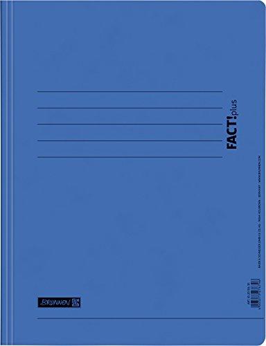 Brunnen 102010630 Schnellhefter FACT!plus (A4, aus Karton) blau