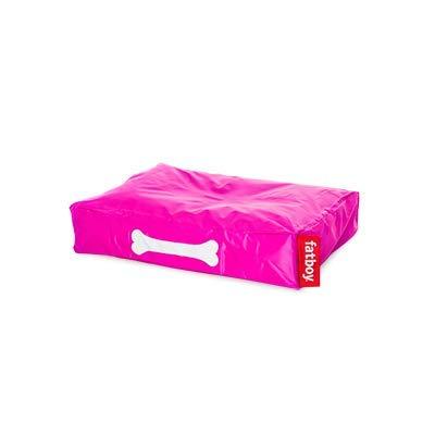 Fatboy® Doggielounge Small Nylon | Kleines Hundekissen in Pink | Abwaschbares Hundebett für kleine Hunde | 60 x 80 x 15 cm