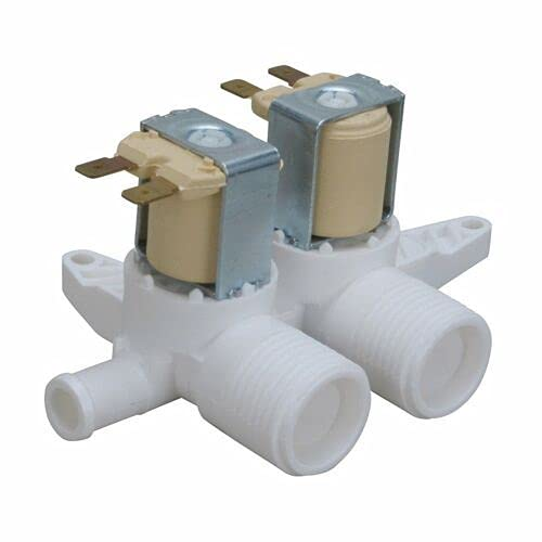 KASINGS Dual Inlet Valve Replacement for WBSR3140DAWW WBSR3140DCWW WBXE2070A0AA WBXE2070A0WW WBXE2070A2WW WBXR1060T2AA WBXR1060T2WW