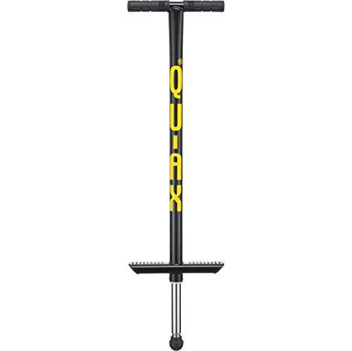 QU-AX® Pogostick schwarz, für 50 bis 80 kg Körpergewicht