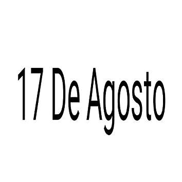 17 de Agosto