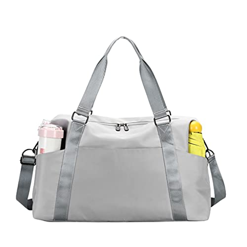 Bolsa de Viaje Grande Waterproofle Travel Duffel Bag Weekender Carry on Bag Compatible with Women Man Man Sports Gym Bag Bag Duffel Bag para Viajes Cortos Bolsa de Deporte