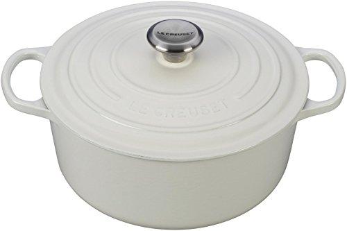 Le Creuset Enameled Cast Iron Signature Round Dutch Oven, 5.5 qt.,...
