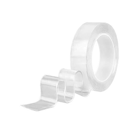 Montage-Klebeband, spurlos, waschbar, transparent, für Badezimmer, Zuhause, 1 Stück -  mehrfarbig -