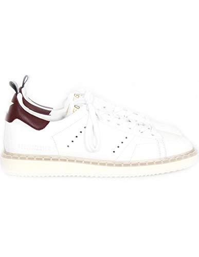 Golden Goose Sneakers Starter White - Bordeaux