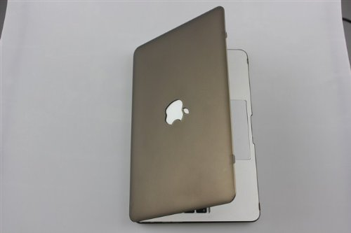 Matte Scrub dura della copertura di caso di Shell per Apple MacBook Air da 13,3 pollici portatile A1369 e A1466 - Grigio