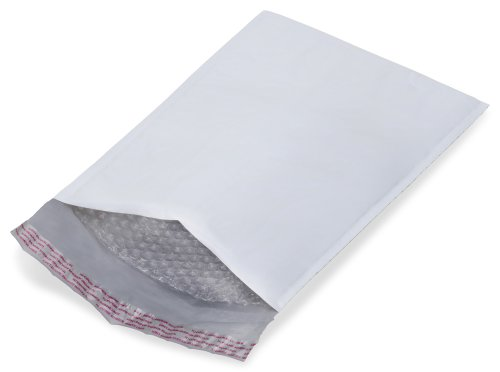 250 - #00 - 5x10 POLY BUBBLE MAILERS PADDED ENVELOPES -BravoPack Brand