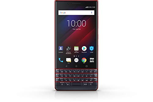 BlackBerry Key 2 LE 64GB Dual Sim QWERTY Android Red Smartphone