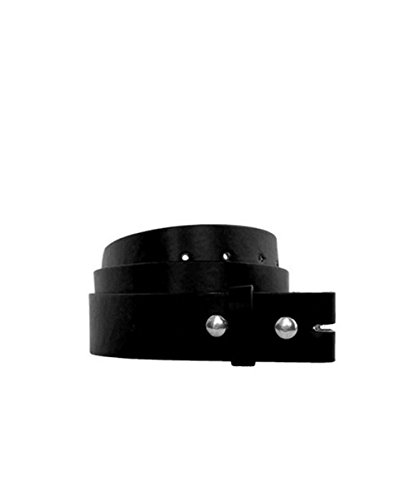 All Color Leather Belt For All Buckles, X-LARGE, BLACK