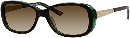 SAKS FIFTH AVENUE Sunglasses 84/S 0DY4 Emerald Havana 54MM