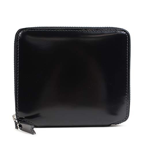 コムデギャルソン COMME des GARCONS 財布 二つ折り ラウンドファスナー ブラック 黒 SA2100MI ブラック [並行輸入品]