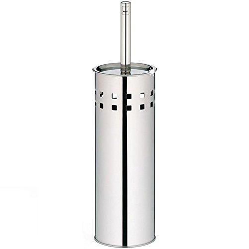 Kela 22531 set porte-brosse WC, acier inoxydable brillant, 'Bodo'