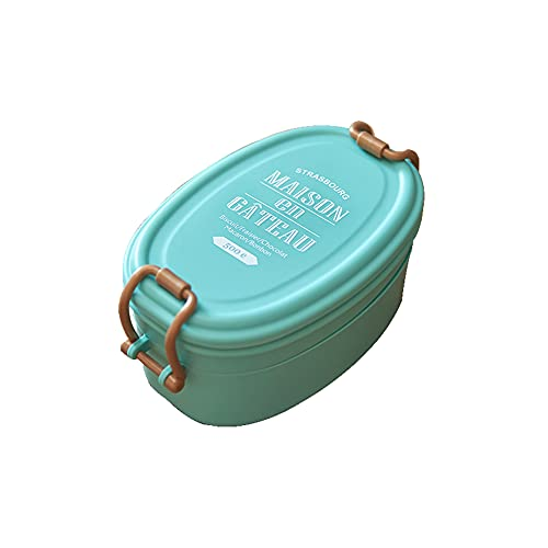 FEIGAO Bento Lunch Box,High Capacity Lunch Containers,Food Grade PP Kids Lunch Box,Plastic Food Containers With Lids,Hermetic(19.5x14x9.3cm)