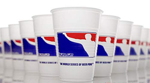 BPONG Cups, Official Cups of The World Series of Beer Pong, 16 oz. - 40-Pack