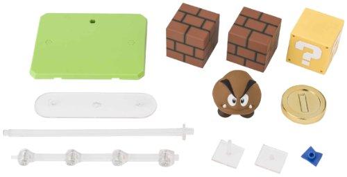 Bandai - 016190 - Figurine - Super Mario Bros - Set D'Accessoires A Pour Figuarts - 10 Cm