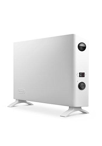 De'longhi HSX2320F - Calefactor eléctrico interior, 2000w, ajustes termostato, blanco