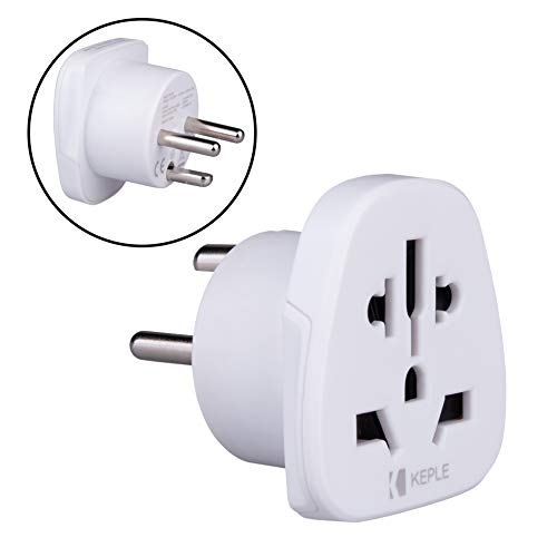 Denmark Dinamarca, Greenland Adapter Viaje Plug Tipo K to a UK US USA American AUS Australia EU Europe European Asia...