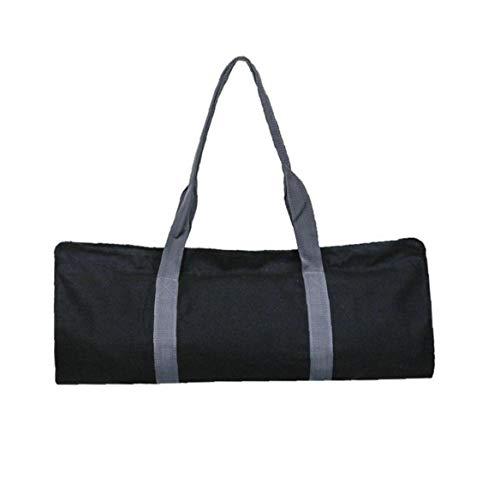 Aiyrchin Yoga-Matte Tasche Pilatus Lagerung Schultergurt Carriers Multi-Funktions-Oxford-Tuch für Pilates Yoga-Matte Schwarz