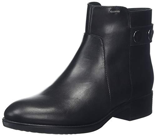 Geox Damen D FELICITY NP ABX A Stiefeletten, Schwarz (Black C9999), 35 EU