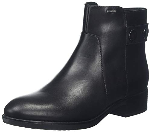 Geox Damen D FELICITY NP ABX A Stiefeletten, Schwarz (Black C9999), 39 EU