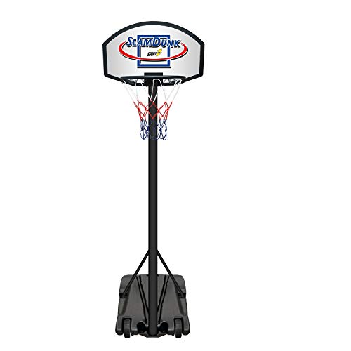 Palm Canestro Basket Esterno con Base canestro regolamentare Altezza Regolabile da Camera Bambini...