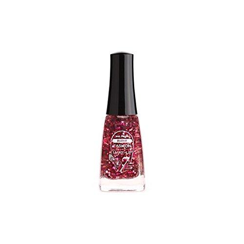 FASHION MAKE UP - Vernis à ongles Bijoux - Glitter Rose - Fabrication Européenne