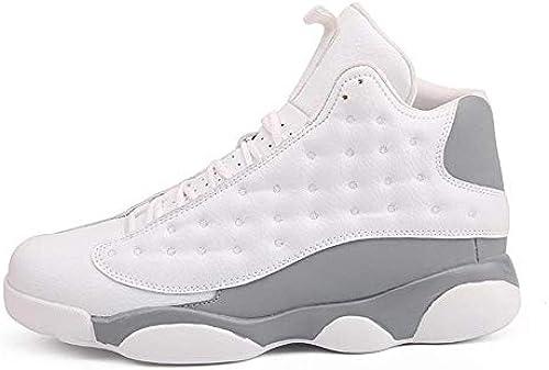IDNG Basketballschuhe Herren Basketball-Schuhe Basketball-Schuh Hohe Top Lace-Up Turnschuhe