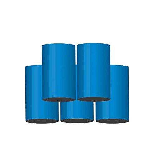 Bengalo Lot de 5 lanternes à fontaine Vulkan Bleu / feux d'artifice toute l'année Kat T1/F1