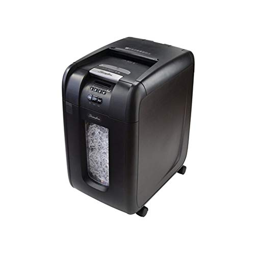 Find Bargain HXSD Paper Shredder, Fully Automatic Business Office Shredder 300 Sheets At A Time, Wit...