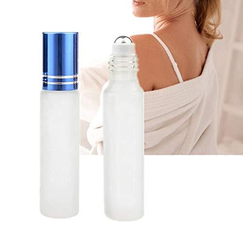 Flacon Parfum Vide Roll on Vide pour Voyage et La Maison Rouleau sur Les Bouteilles Parfait pour Les Huiles Essentielles Blue