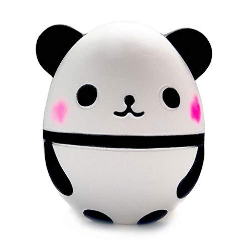 BANGNA Panda Egg Slow Rising Kawaii Perfumado Suave Animal Squishies Divertidos Juguetes Infantiles