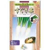 葉菜類 種 かぶ菜すぐき菜 小袋(約10ml)