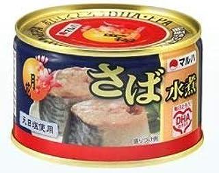 マルハニチロ さば水煮月花(プルトップ缶) 12入