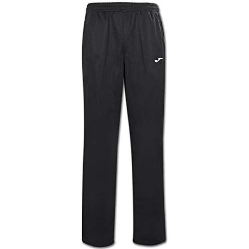 Joma Cannes II Pantalon Largo Deportivo, Hombre, Negro, 3XL