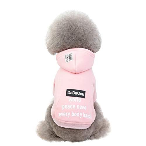Bluelucon 2020 nieuwe huisdiertas met capuchon herfst en winter warme kat hondenkleding hond hoodie kleding voor huis