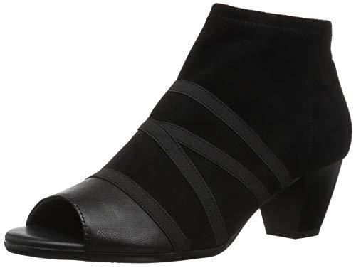 Trotters Women's Maris Ankle Boot, Black, 9.0 M US