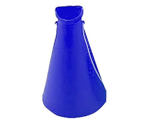 日本緑十字社 プラスチックメガホン(青) 5個1組 380165