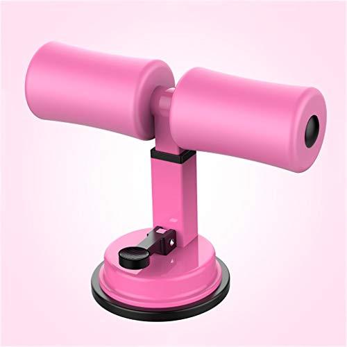 Ailj Fitness Sit Up Maniglia Addominale Esercizio Gear Spinge Verso l'Alto Il Basamento Bar Portable Sit Up Assistant Addominale Esercizio for Home Gym Fitness Travel Gear (Color : Pink)