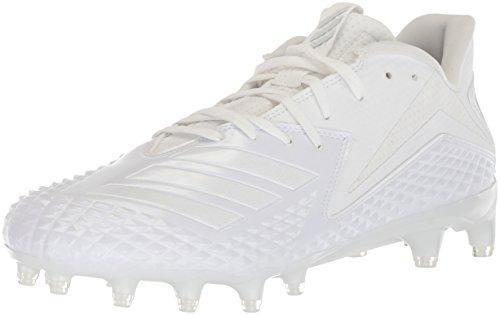 adidas Men's Freak X Carbon Mid Football Shoe, White/White/White, 11.5 M US